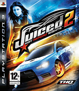Juiced 2: Hot Import Nights PlayStation 3 Cover Art