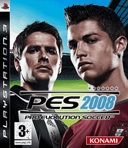 Pro Evolution Soccer 2008 PlayStation 3 Cover Art