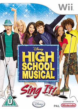 High School Musical - Sing It! Wii Cover Art