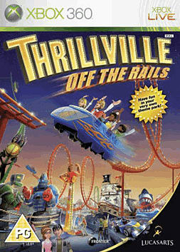 Thrillville: Off the Rails Xbox 360 Cover Art