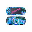 Wrapstar Hyper Blue Skin for PSP Accessories