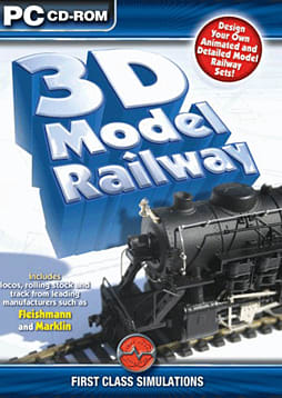 3D Model Railway PC Games Cover Art