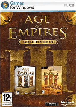 Age of Empires III Gold PC Games and Downloads Cover Art