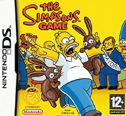 The Simpsons Game DSi and DS Lite Cover Art