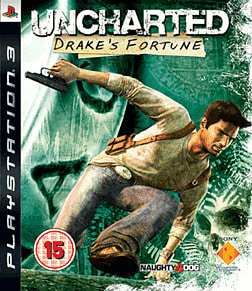 Uncharted: Drake's Fortune PlayStation 3 Cover Art