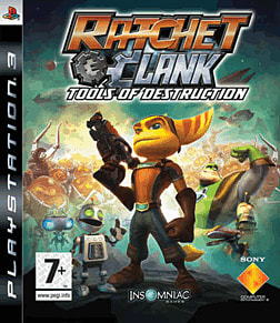 Ratchet and Clank Future: Tools of Destruction PlayStation 3 Cover Art