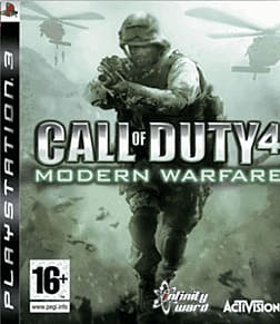 Call of Duty 4: Modern Warfare PlayStation 3 Cover Art
