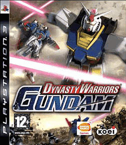 Dynasty Warriors: Gundam PlayStation 3 Cover Art