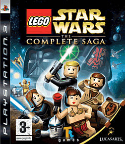 Lego Star Wars: The Complete Saga PlayStation 3 Cover Art