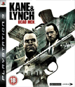 Kane & Lynch: Dead Men PlayStation 3 Cover Art