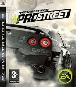Need for Speed ProStreet PlayStation 3 Cover Art