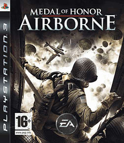 Medal of Honor: Airborne PlayStation 3 Cover Art