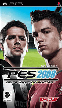 Pro Evolution Soccer 2008 PSP Cover Art