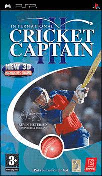 International Cricket Captain III PSP Cover Art