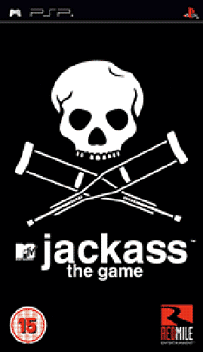 Jackass: The Game PSP Cover Art