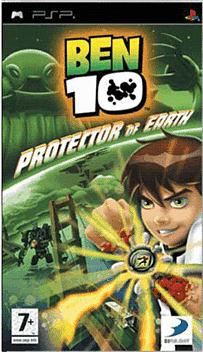 Ben 10 PSP Cover Art