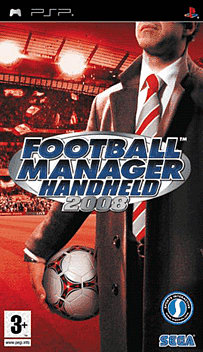 Football Manager Handheld 2008 PSP Cover Art