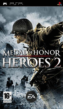 Medal of Honor: Heroes 2 PSP Cover Art