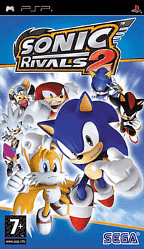 Sonic Rivals 2 PSP Cover Art