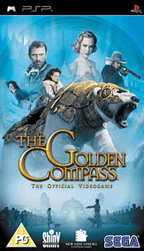 The Golden Compass PSP Cover Art