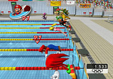 Mario and Sonic at the Olympic Games screen shot 2