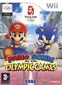 Mario and Sonic at the Olympic Games Wii Cover Art