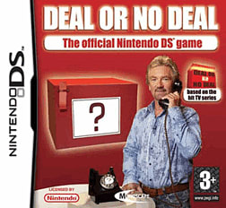 Deal or no Deal DSi and DS Lite Cover Art