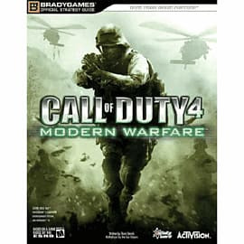 Call of Duty 4: Modern Warfare Strategy Guide Strategy Guides and Books