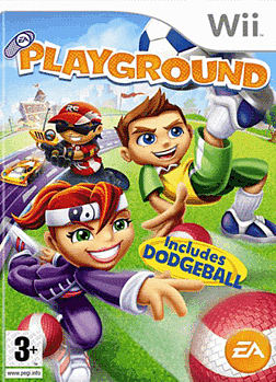 EA Playground Wii Cover Art