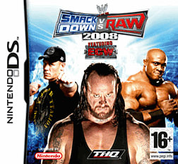 WWE SmackDown! vs. RAW 2008 DSi and DS Lite Cover Art