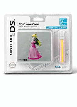 Peach 3D Licensed Metal Case - GAME Exclusive! Accessories