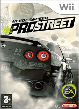 Need for Speed ProStreet Wii Cover Art