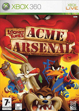 Looney Tunes: ACME Arsenal Xbox 360 Cover Art