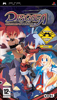 Disgaea: Afternoon of Darkness PSP Cover Art