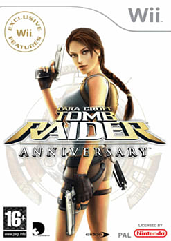 Tomb Raider: Anniversary Wii Cover Art