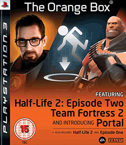 Half-Life 2: The Orange Box PlayStation 3 Cover Art