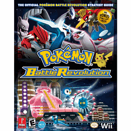 Pokemon Battle Revolution Strategy Guide Strategy Guides and Books