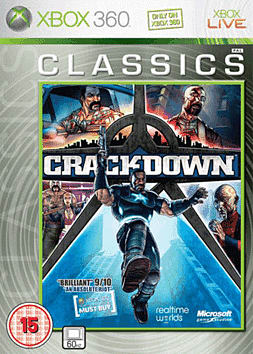Crackdown Classic Xbox 360 Cover Art