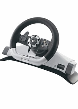 Xbox 360 Wireless Steering Wheel Accessories