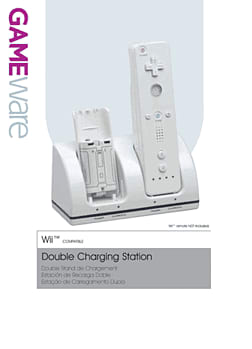 GAMEware Double Charging Station for Wii Accessories 