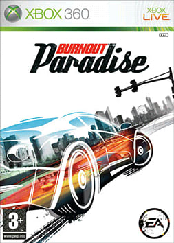 Burnout Paradise Xbox 360 Cover Art