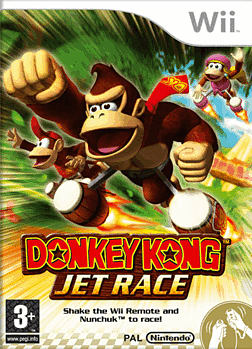 Donkey Kong Jet Race Wii Cover Art