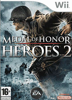 Medal of Honor Heroes 2 Wii Cover Art