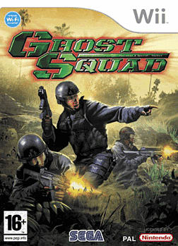 Ghost Squad Wii Cover Art