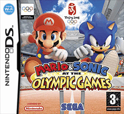 Mario and Sonic at the Olympic Games DSi and DS Lite Cover Art