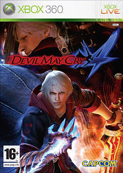 Devil May Cry 4 Xbox 360 Cover Art