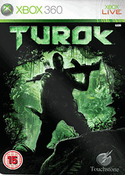 Turok - GAME Exclusive Steelbook Edition Xbox 360 Cover Art