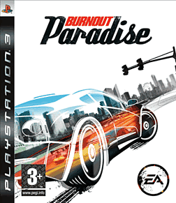 Burnout Paradise PlayStation 3 Cover Art