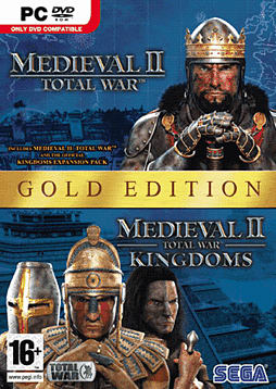 Medieval II: Total War Gold Edition PC Games and Downloads Cover Art