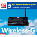 Zoom Wireless-G Access Point + 4 Accessories